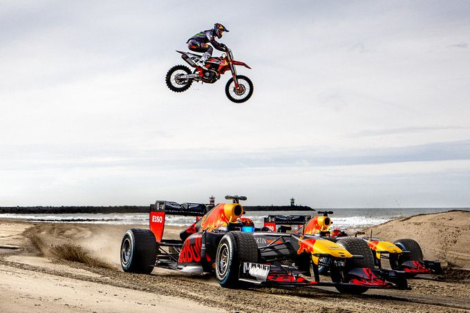 Jeffrey Herlings Red Bull eSports Alexander Albon