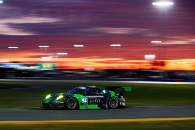 24 Hours of Daytona Larry ten Voorde Porsche GT3R Black Swan Racing Porsche GT3R
