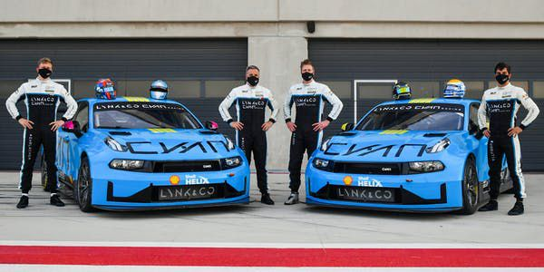 Lynk & Co Cyan Racing FIA WTCR