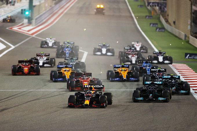 Start Formula 1 Grand Prix of Bahrain