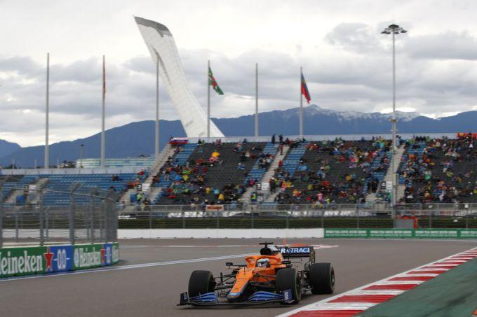 Magistrale eerste pole positie voor Lando Norris in Rusland + UITSLAG |  RaceXpress